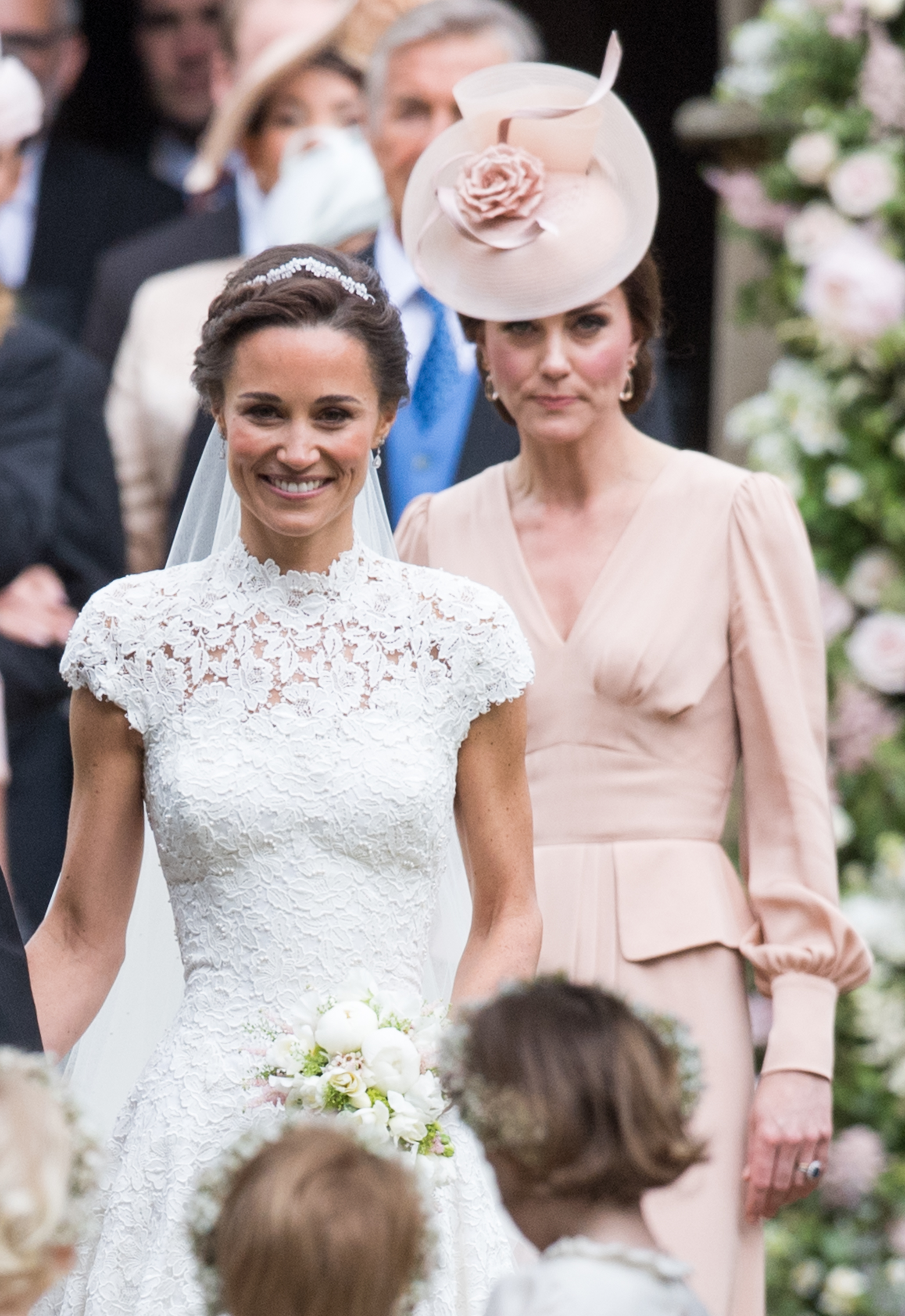 Kate Middleton Attends Pippa Middletons Wedding And She Has A