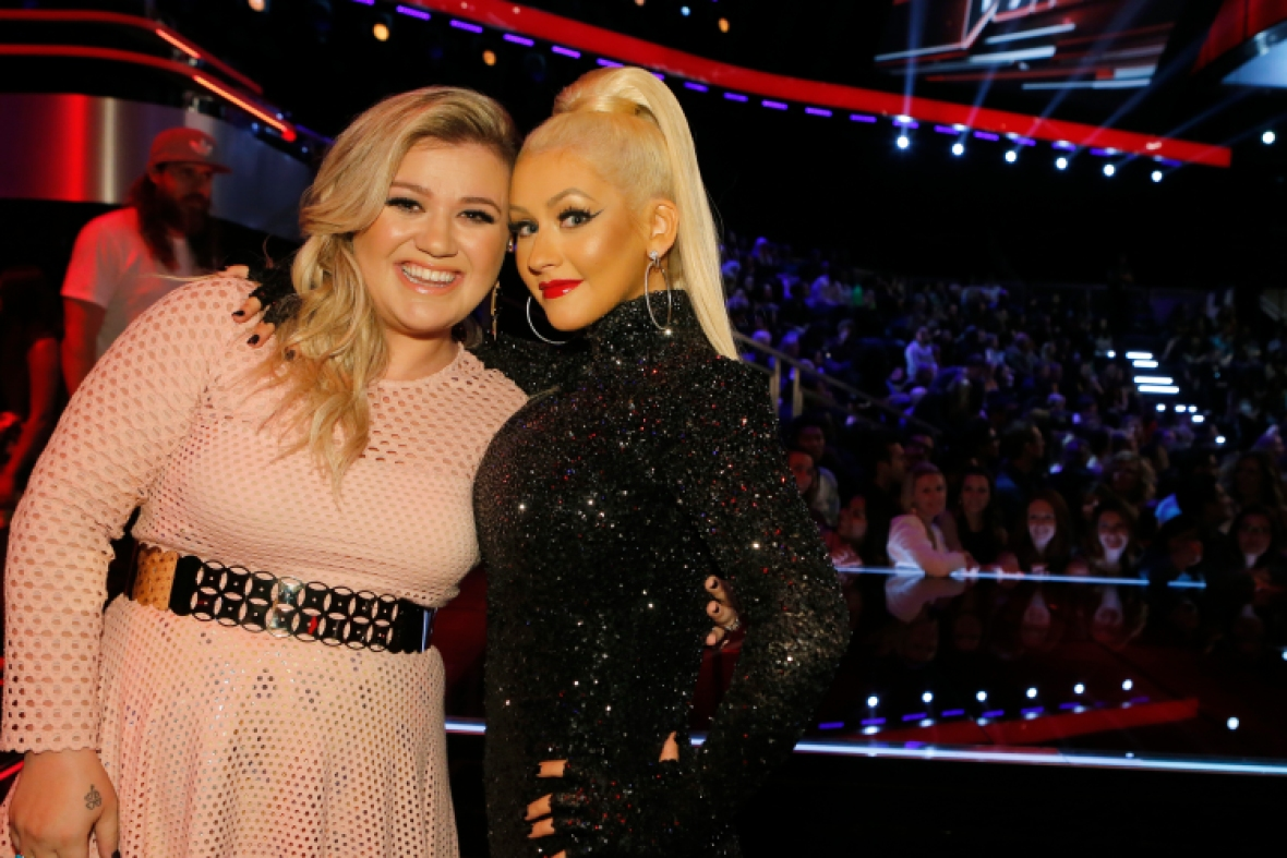 kelly clarkson 'the voice' getty images