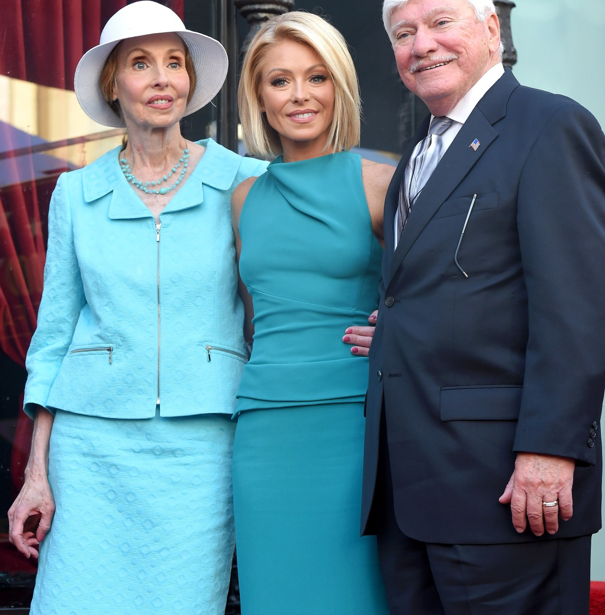 kelly ripa parents getty images