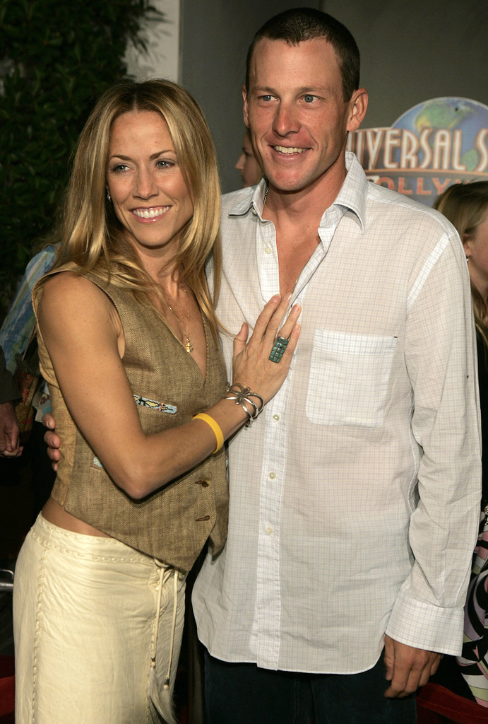 lance armstrong sheryl crow getty images