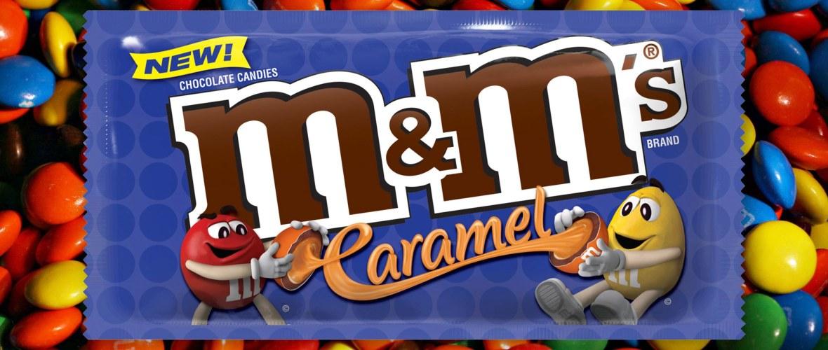 caramel m&ms r/r