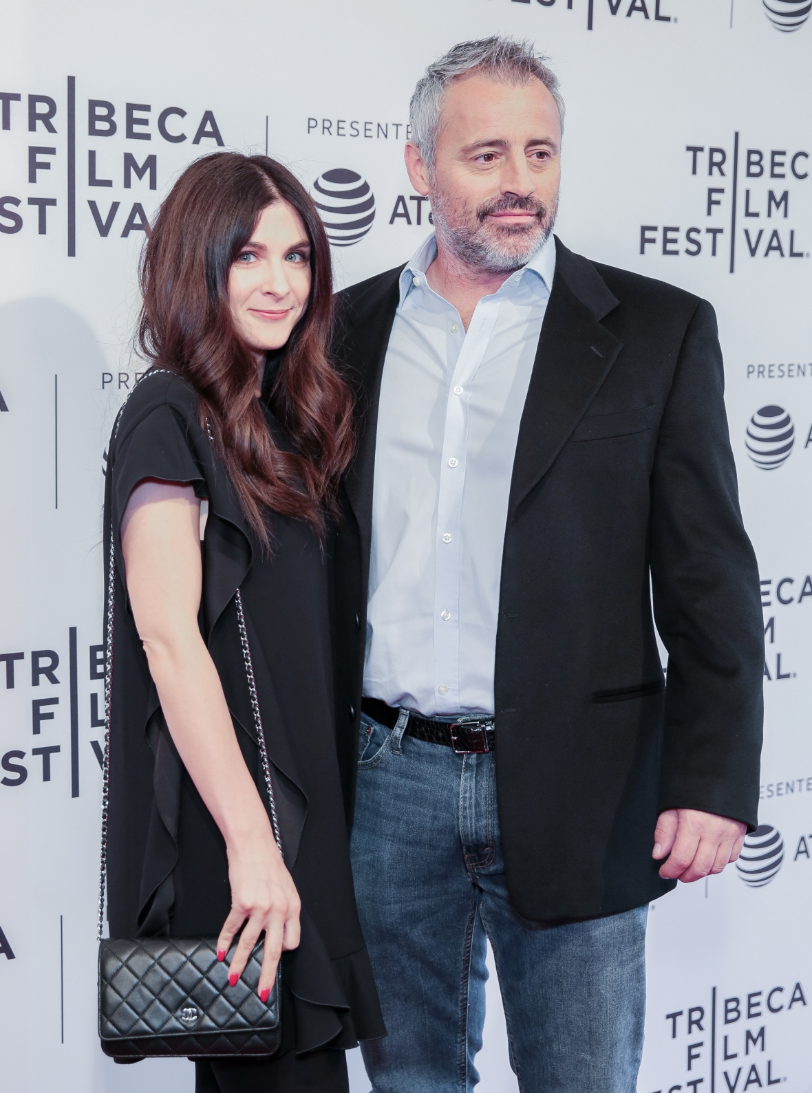 matt leblanc girlfriend getty images