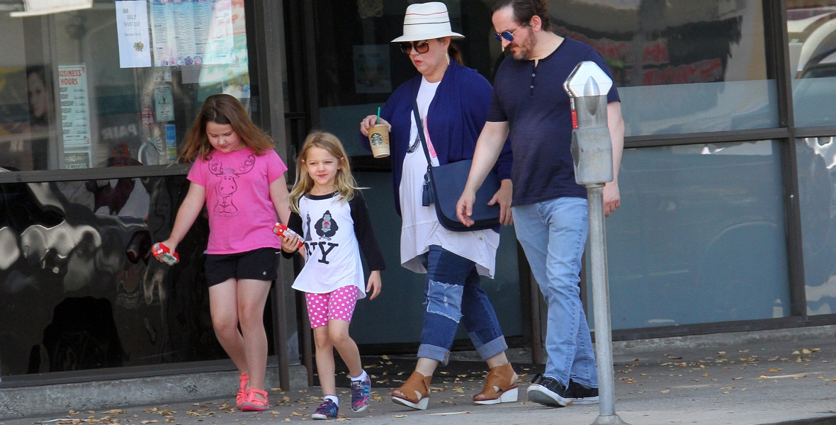 melissa mccarthy daughters splash