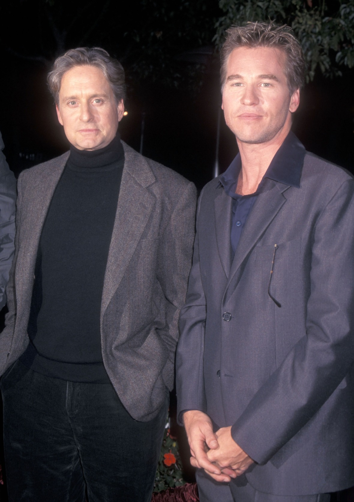 michael douglas val kilmer getty images