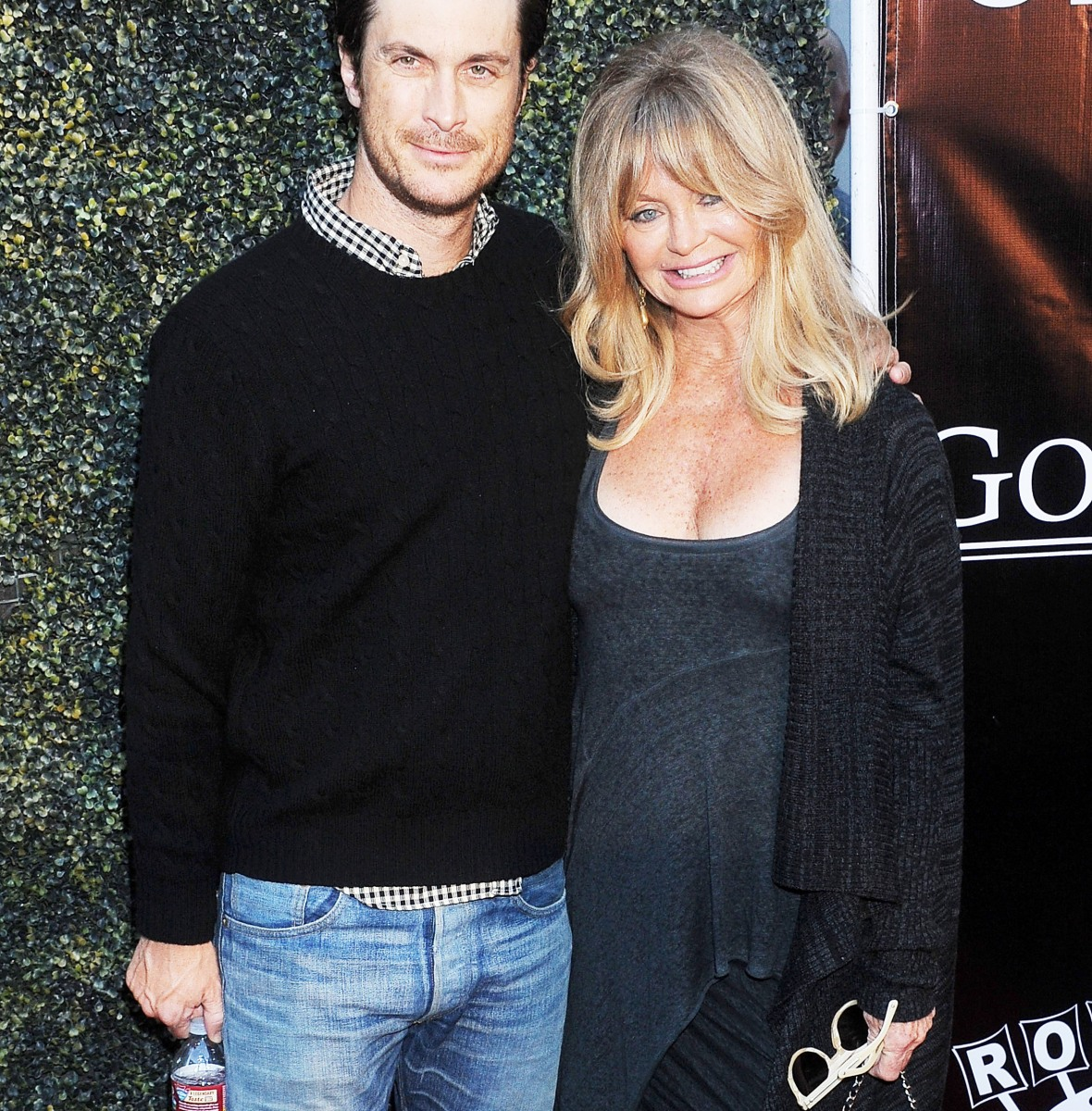goldie hawn oliver hudson getty images