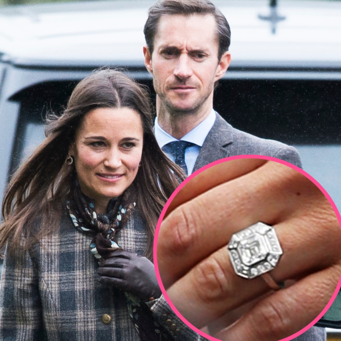 pippa middleton engagement ring getty images