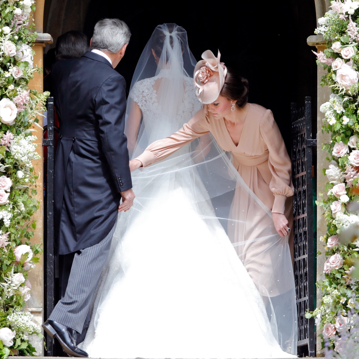 Pippa Middleton Wedding Marquee.Pippa Middleton S Wedding Photos See All Of The Sweet Moments From