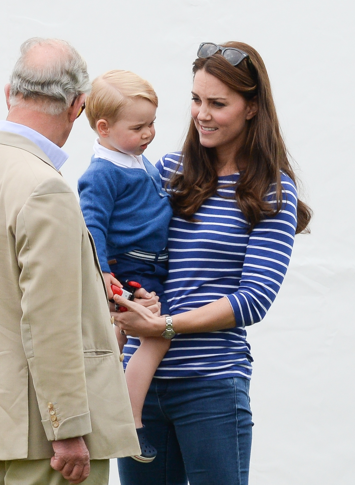 prince george prince charles getty images