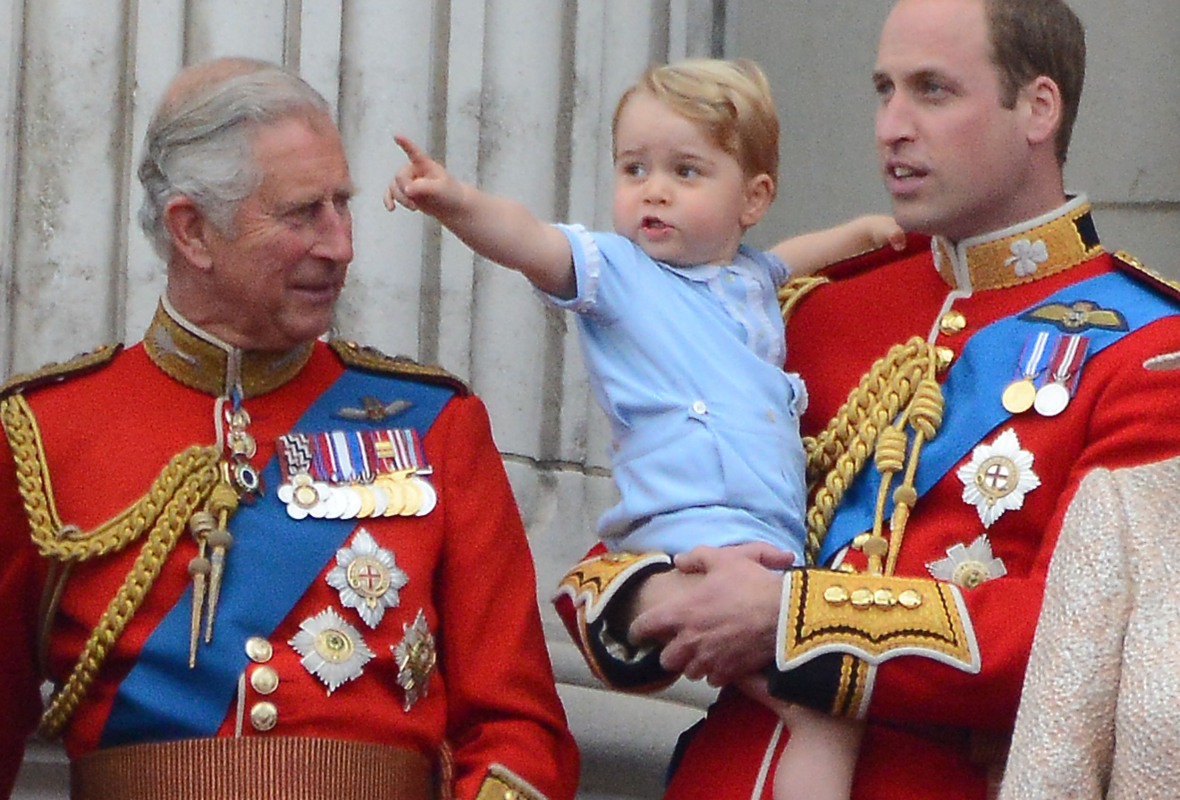 prince charles prince george getty images
