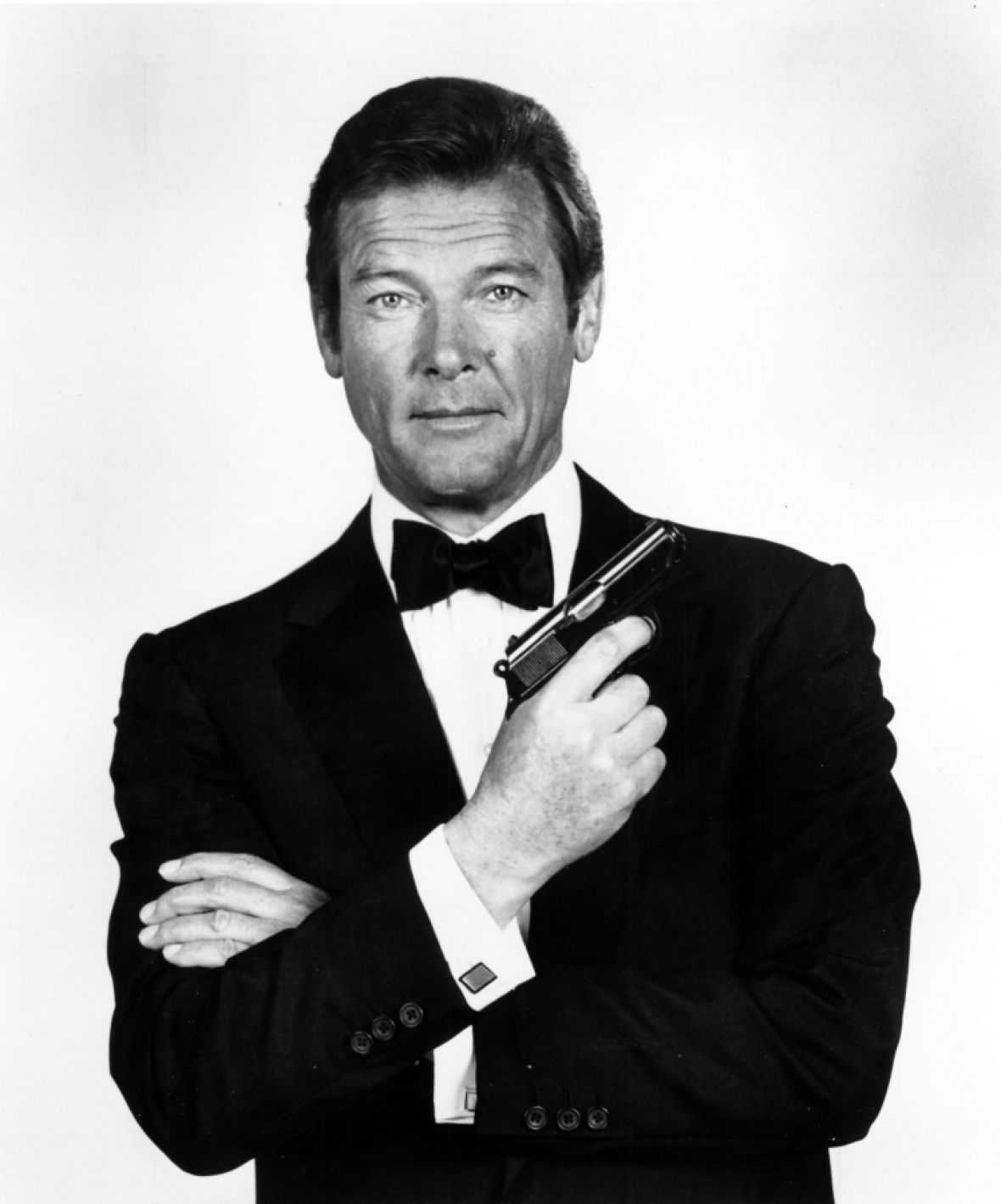 roger moore 'james bond' getty images