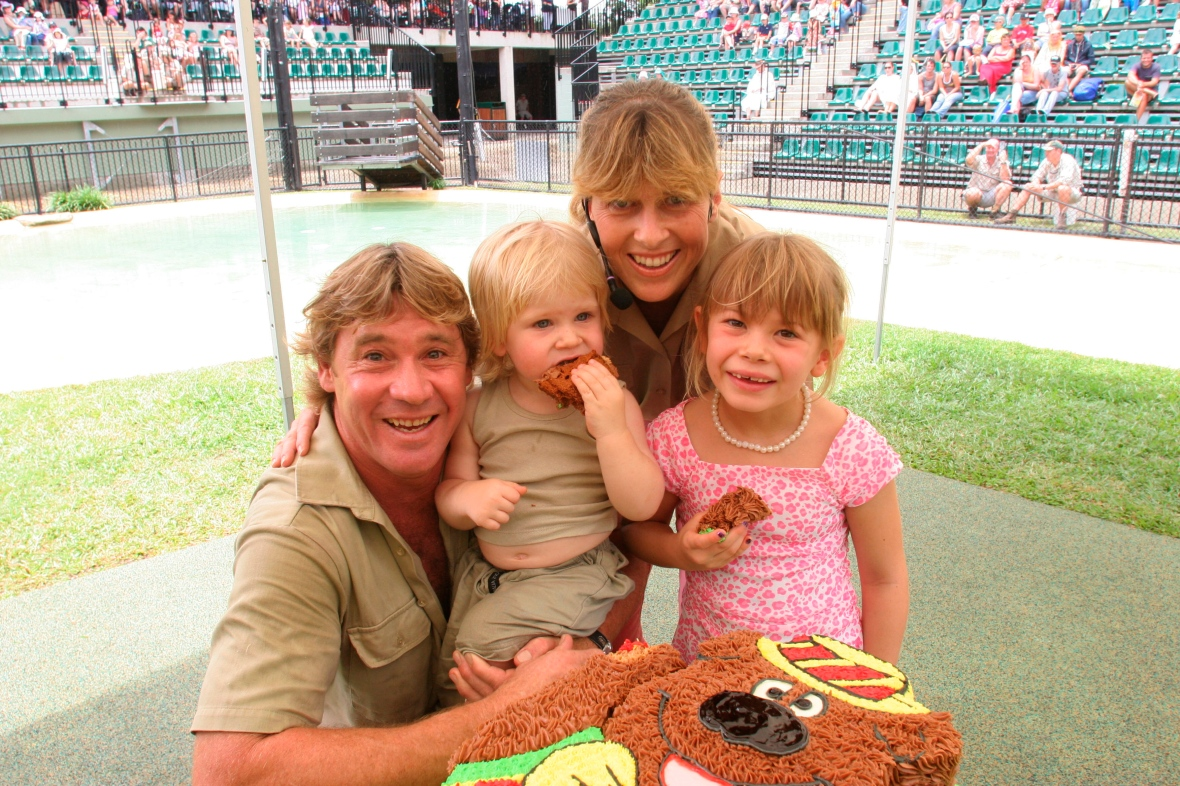 steve irwin family getty images