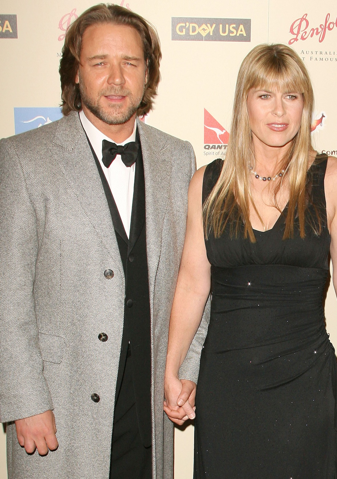 terri irwin russell crowe getty images