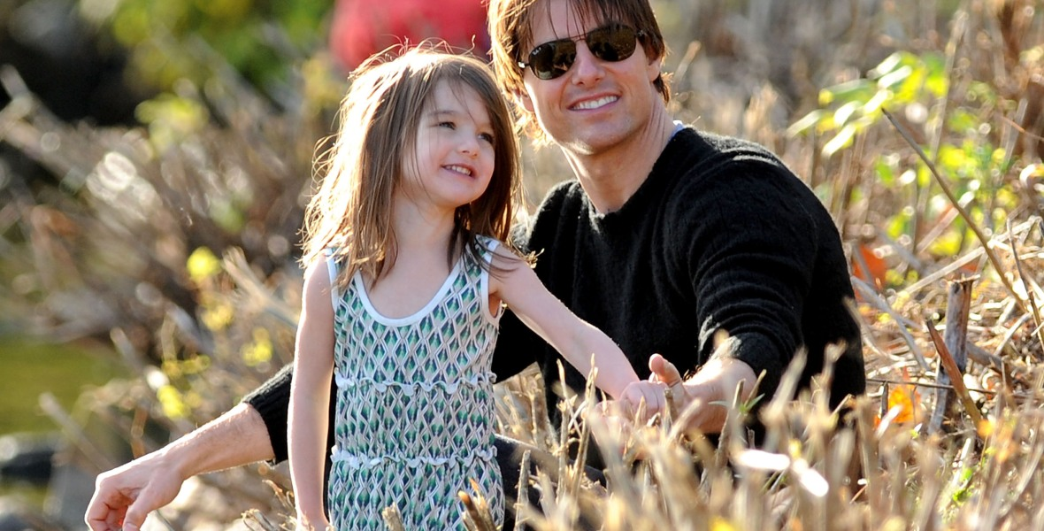 tom cruise suri cruise getty images