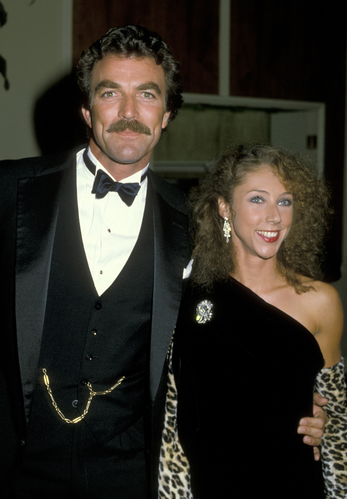 tom selleck wife getty images