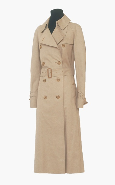audrey hepburn's trench coat (christies)