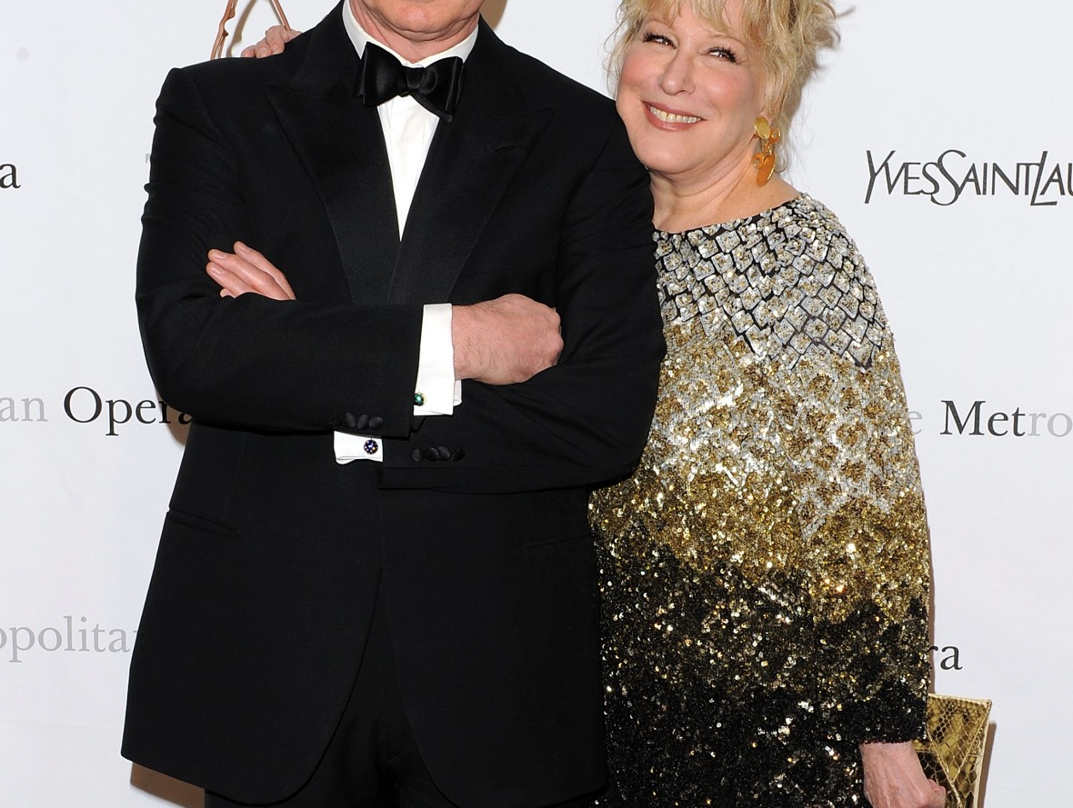bette midler & husband