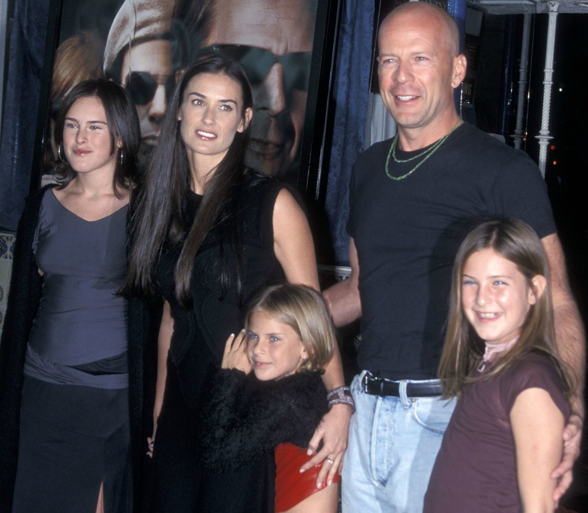 Demi Moore and Her Daughters Rumer, Scout, and Tallulah ...
