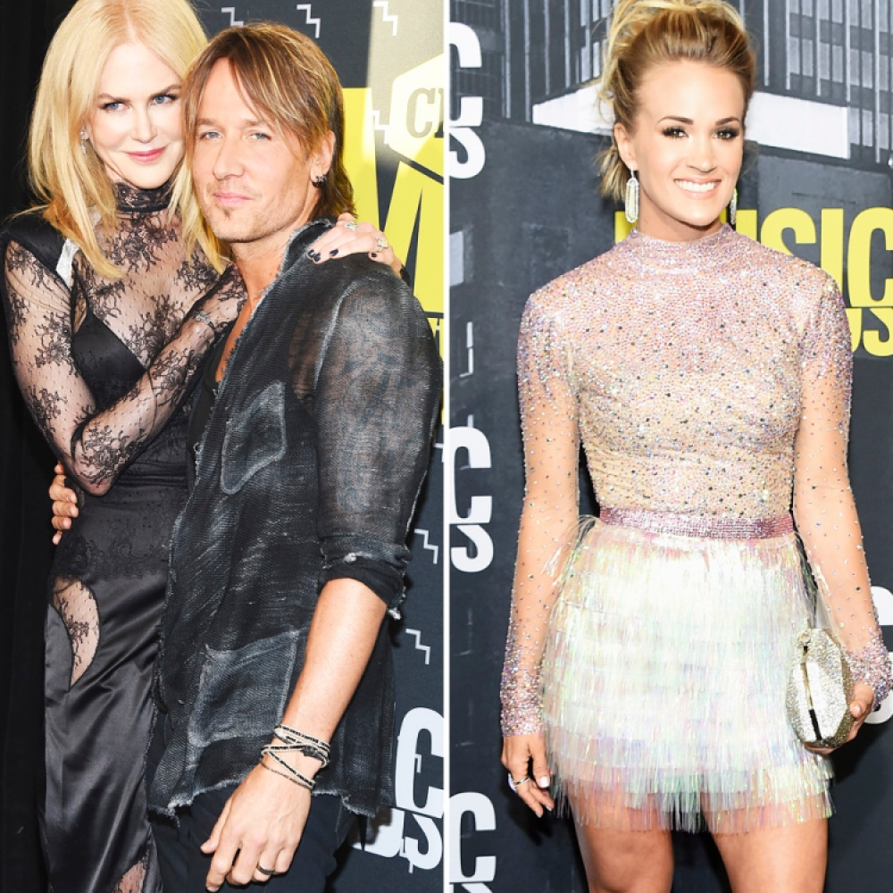 keith urban carrie underwood cmt awards 2017