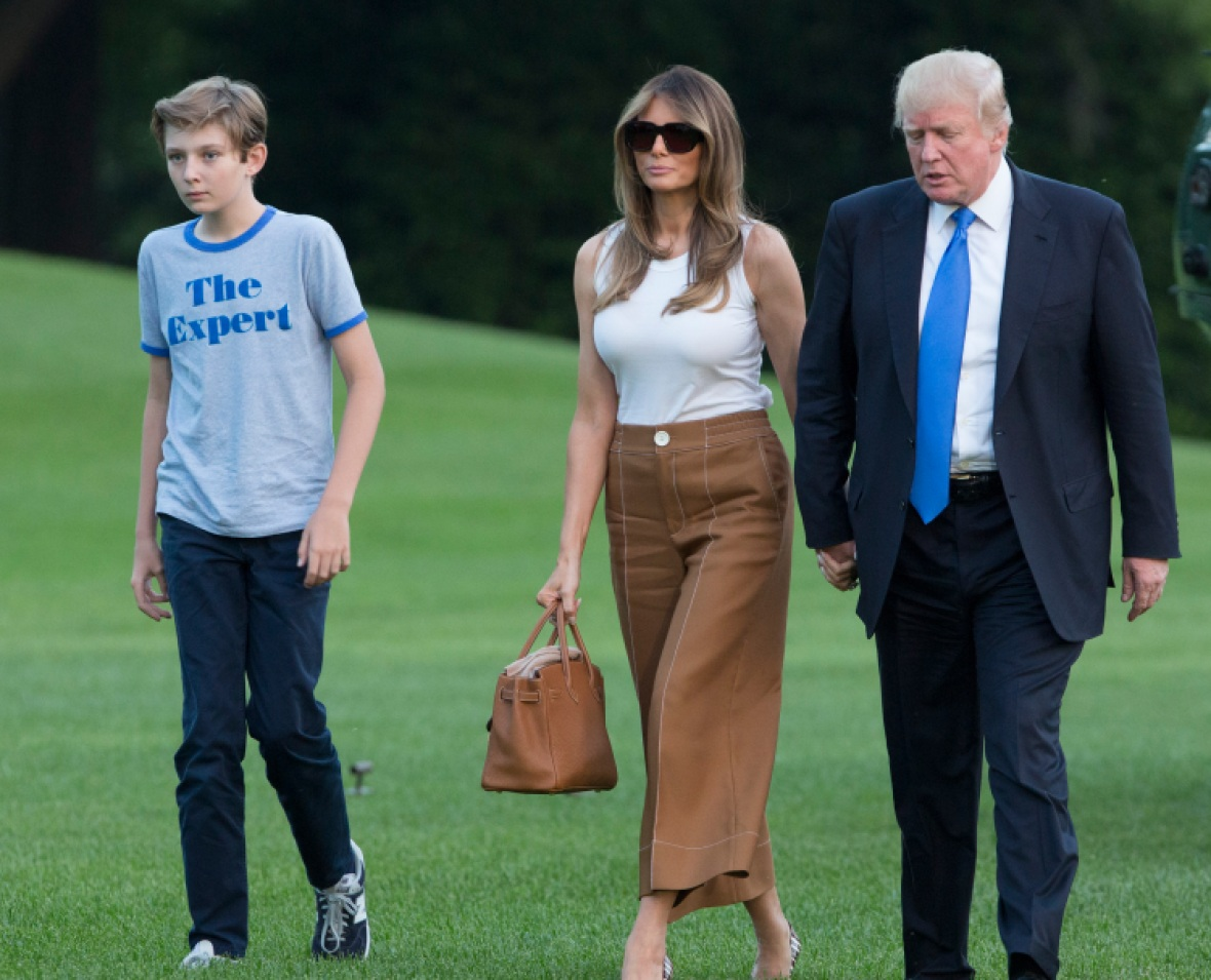 first family getty images
