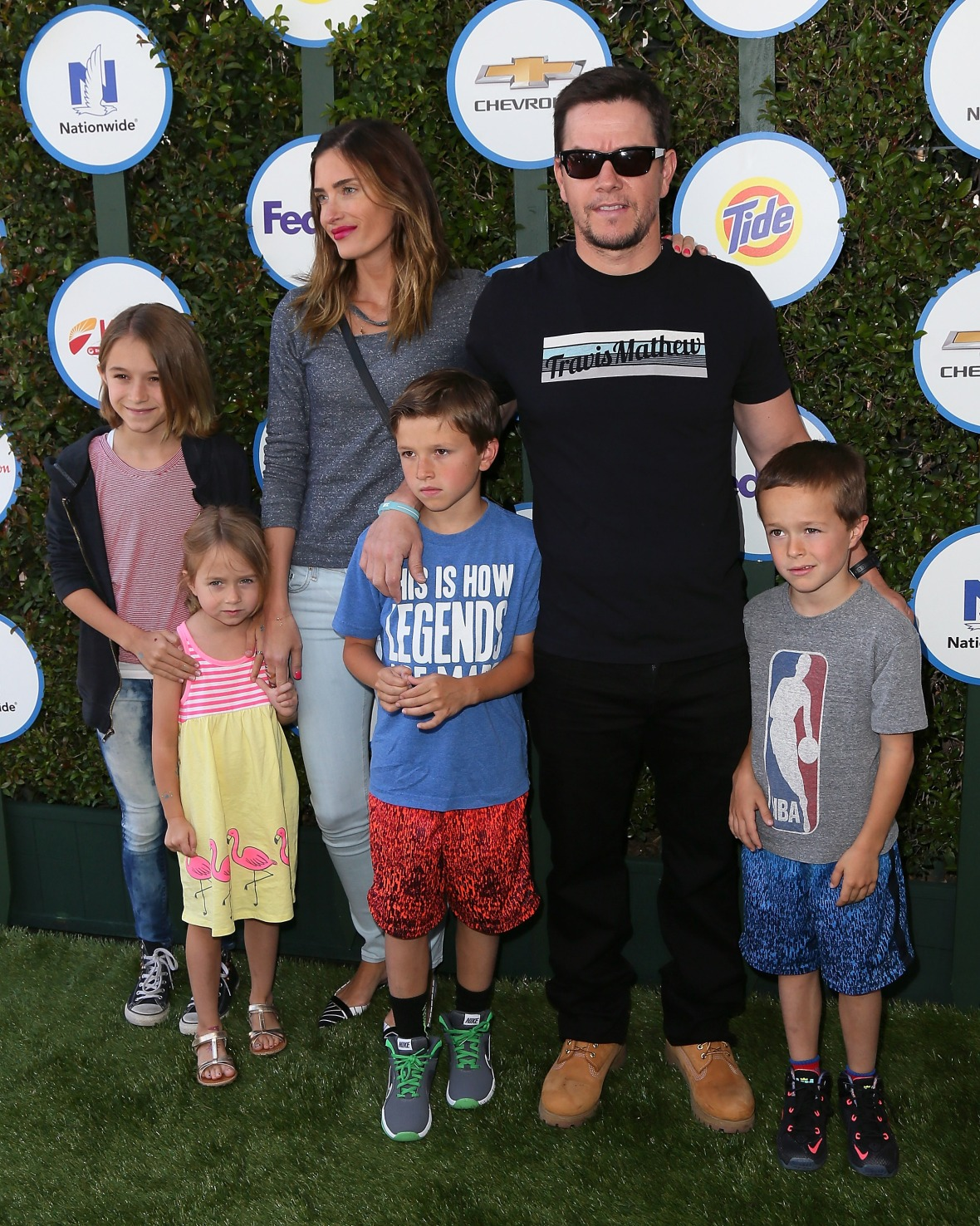 mark wahlberg kids - getty images