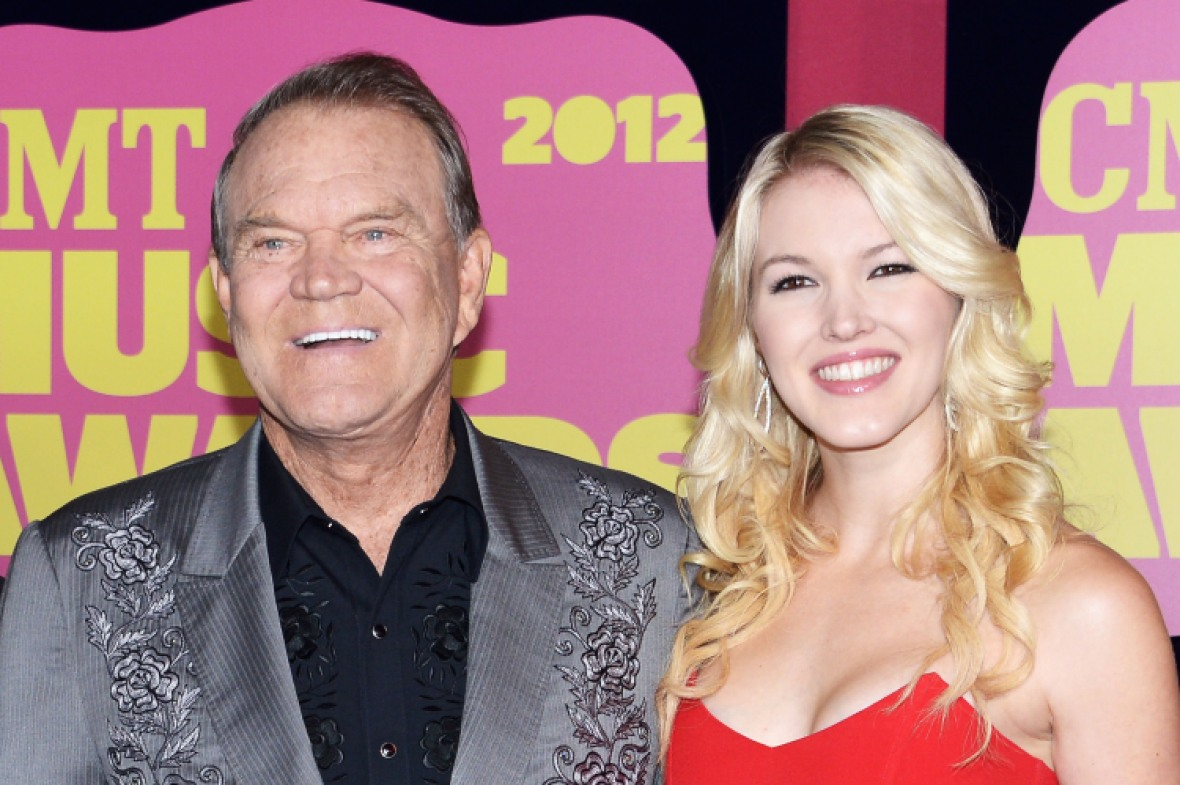 glen campbell daughter ashley getty images