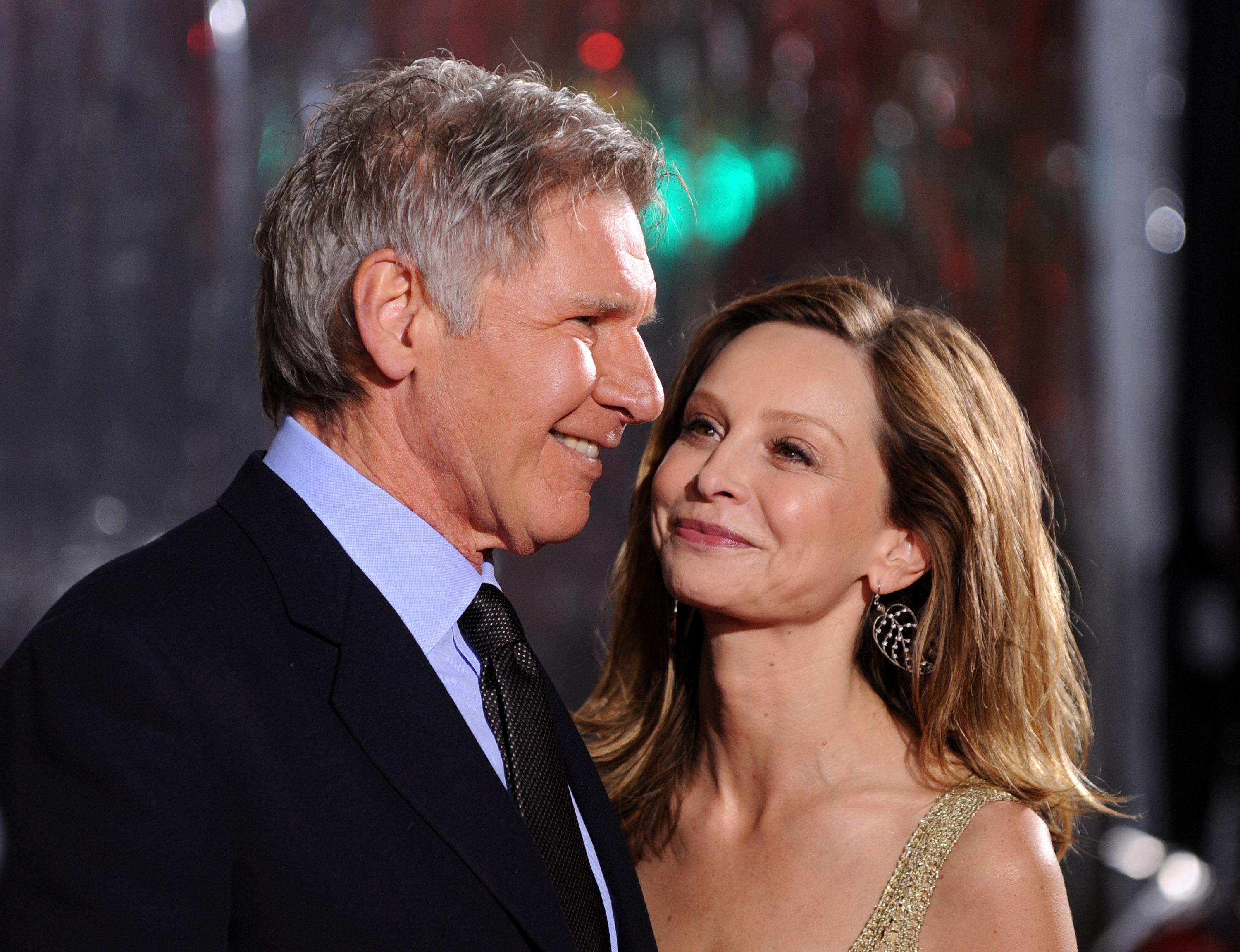 Calista Flockhart Gushes About Her Seven-Year Marriage to Harrison Ford