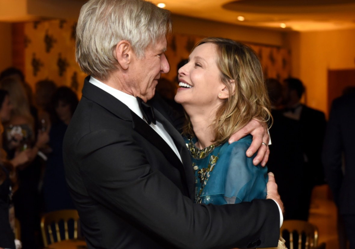 harrison ford calista flockhart getty images
