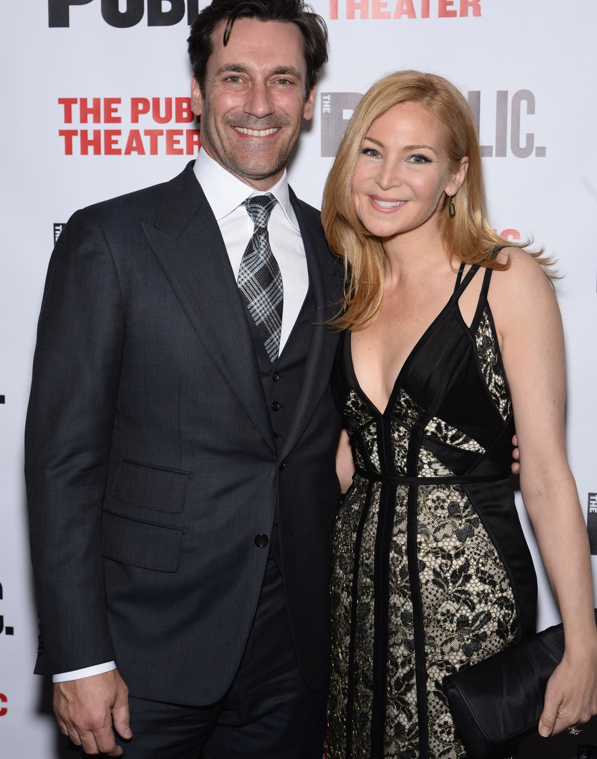 jon hamm jennifer westfeldt getty images