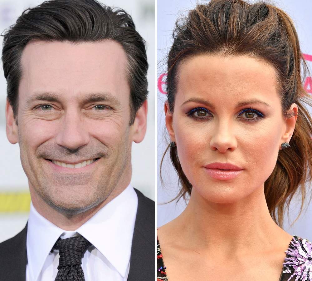 jon hamm kate beckinsale getty images