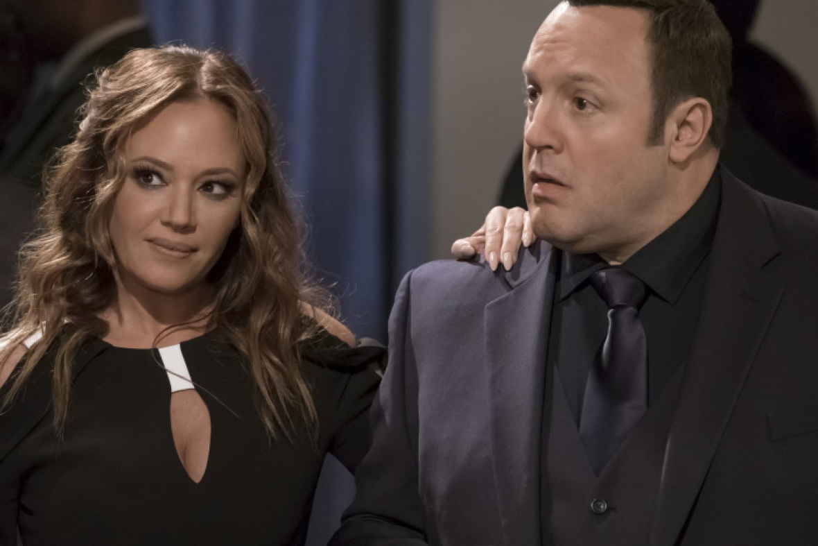 leah remini 'kevin can wait' getty images