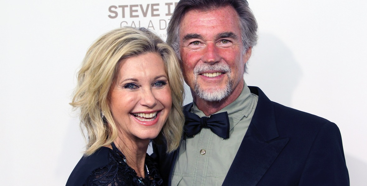 olivia newton-john husband getty images