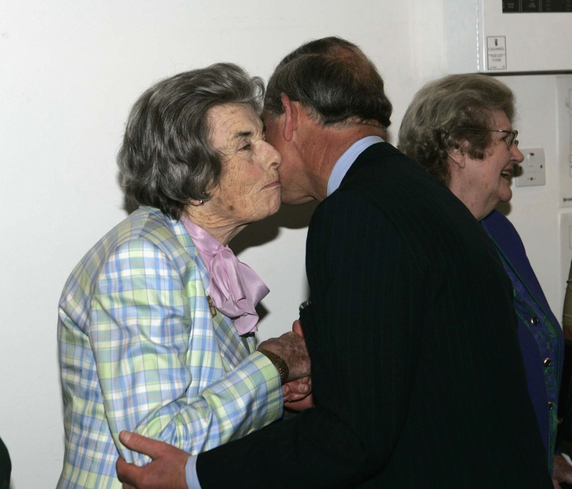 prince charles & his godmother getty