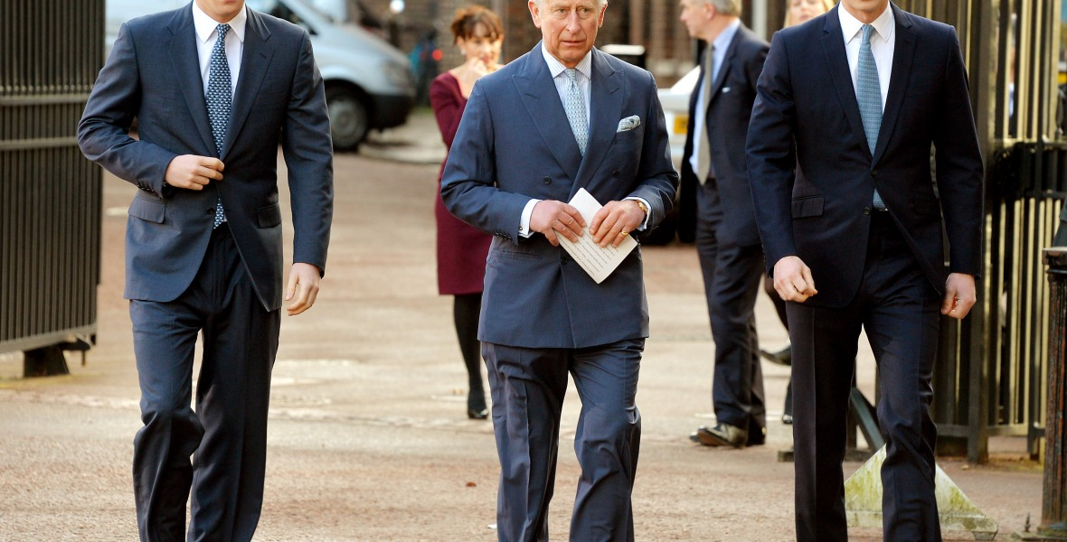 prince harry prince charles prince william getty images