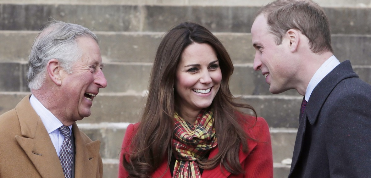 prince charles prince william kate middleton getty images
