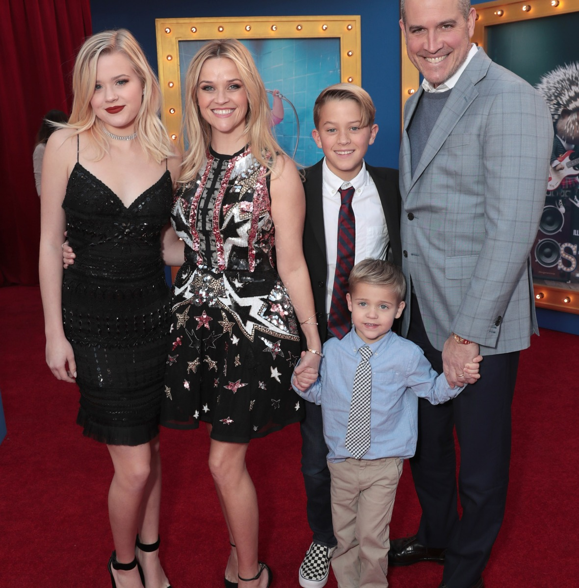 reese witherspoon family getty images