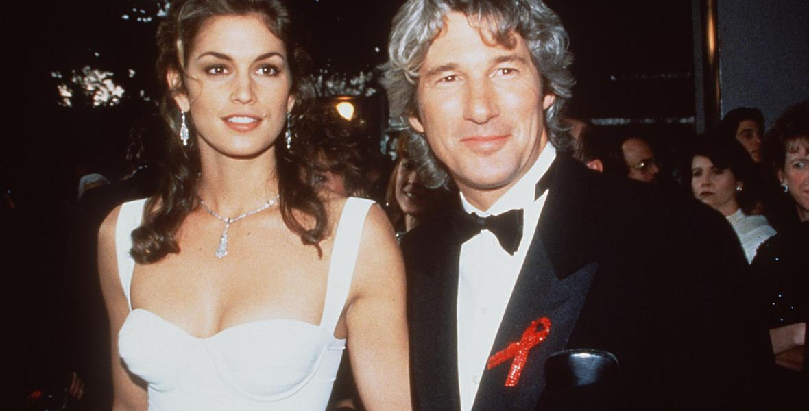 richard gere cindy crawford getty images