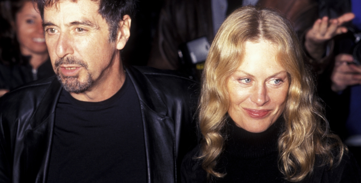 al pacino beverly d'angelo getty images