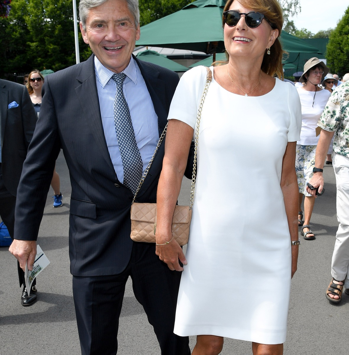 carole middleton michael middleton getty images