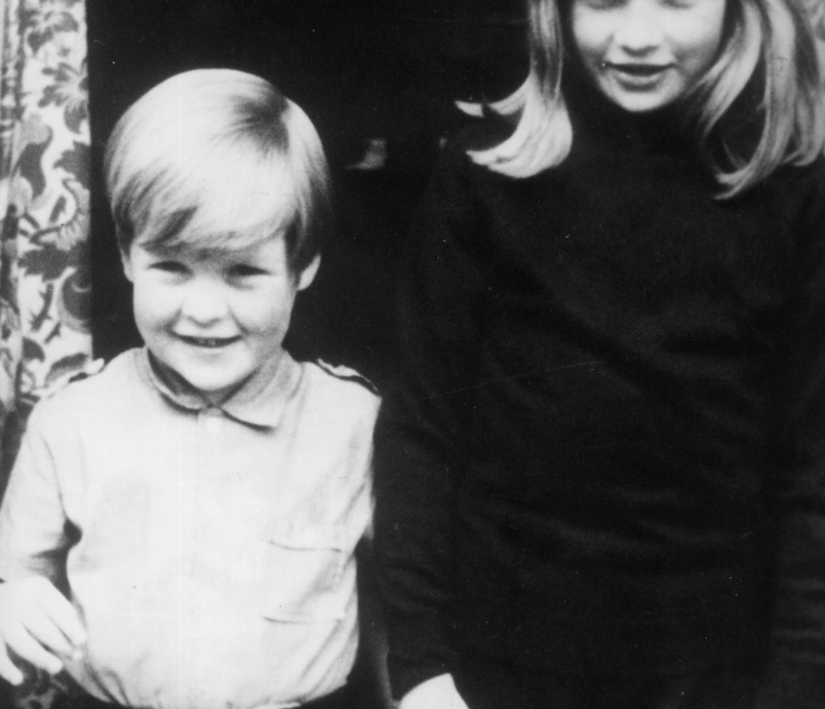 charles spencer and princess diana childhood - getty