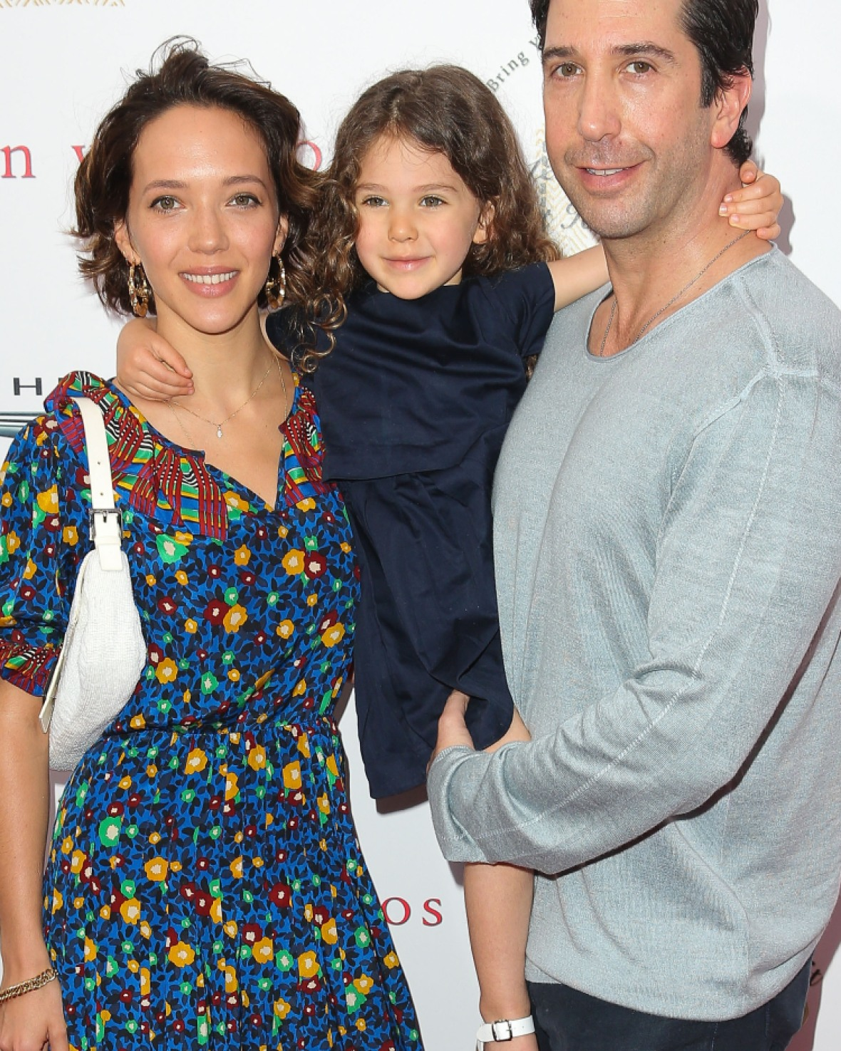 david schwimmer family getty images