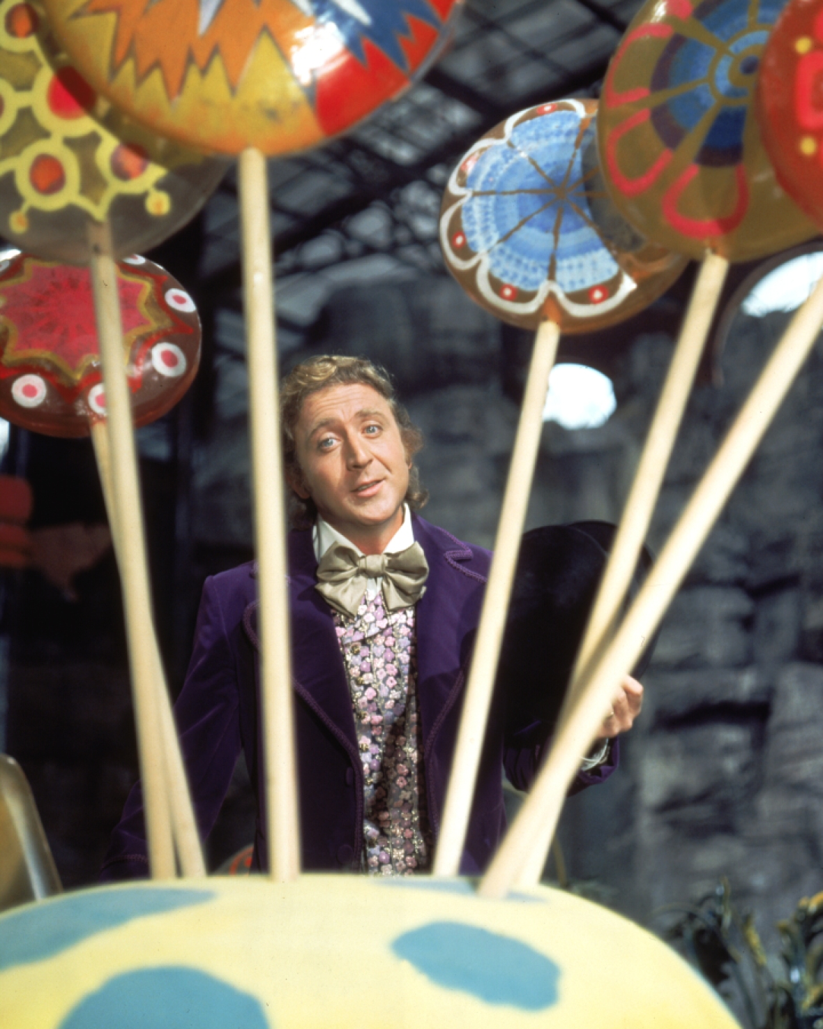gene wilder willy wonka getty images