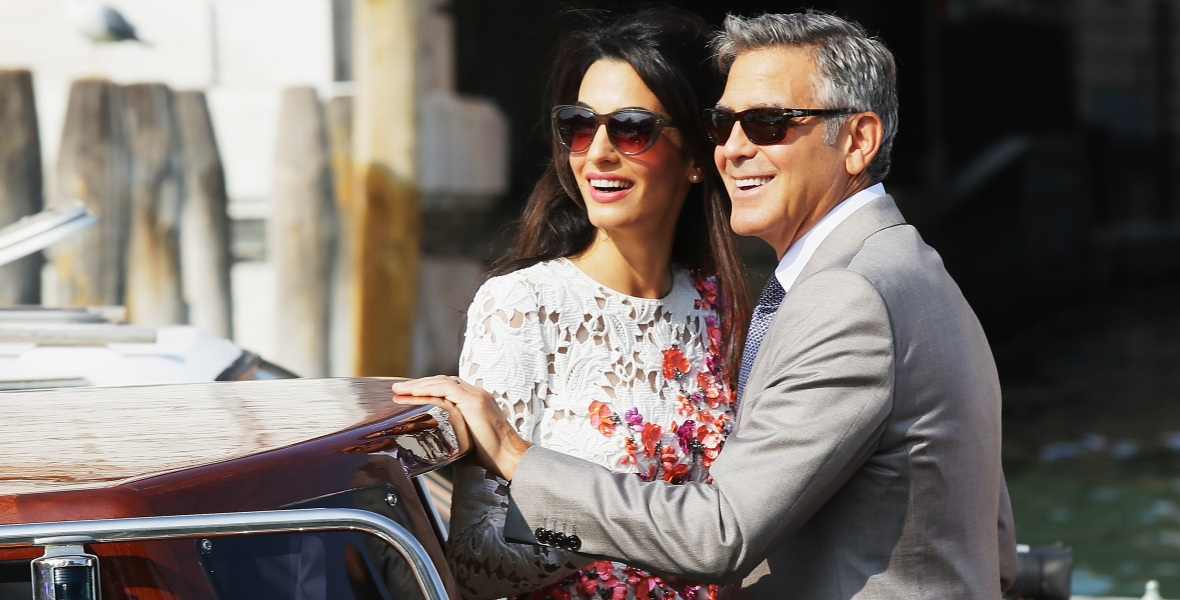 george clooney amal clooney getty images
