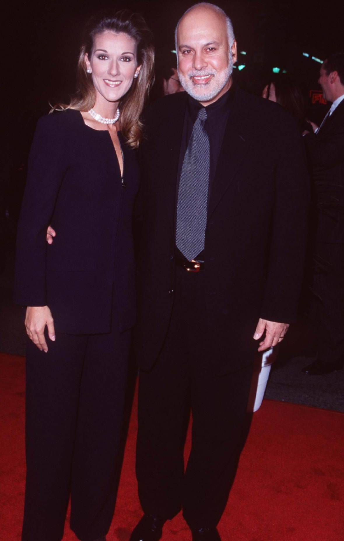 celine and rene - getty images