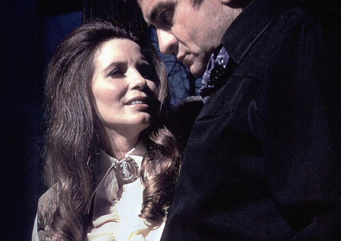 johnny cash june carter - getty images