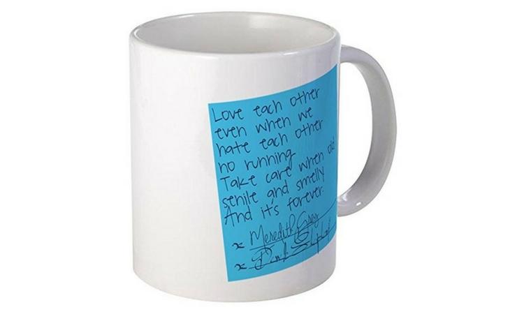 grey's anatomy derek meredith mug