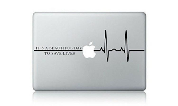 derek quote laptop sticker