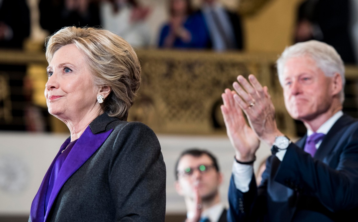 hillary clinton bill clinton getty images