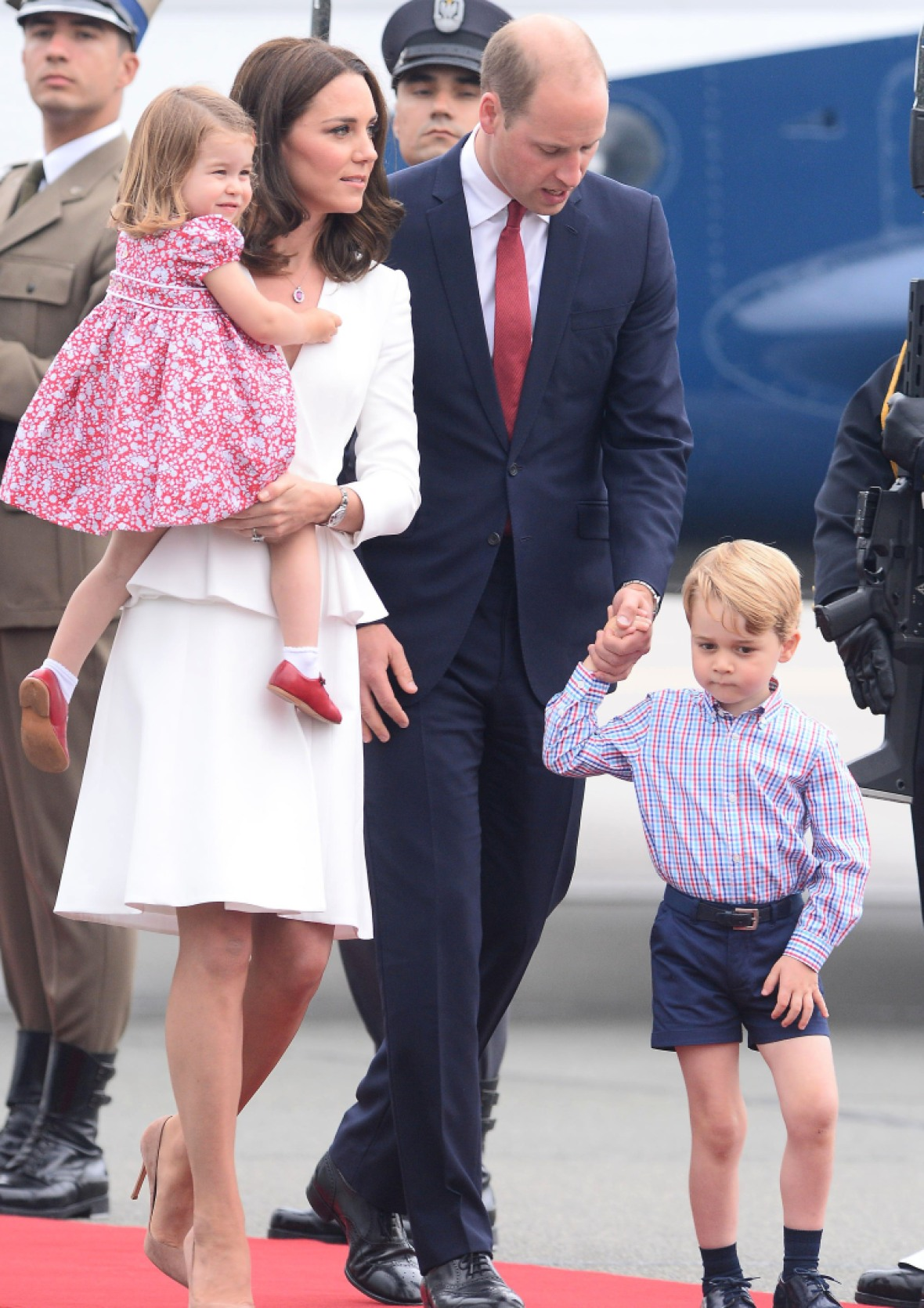 kate middleton prince william poland getty images