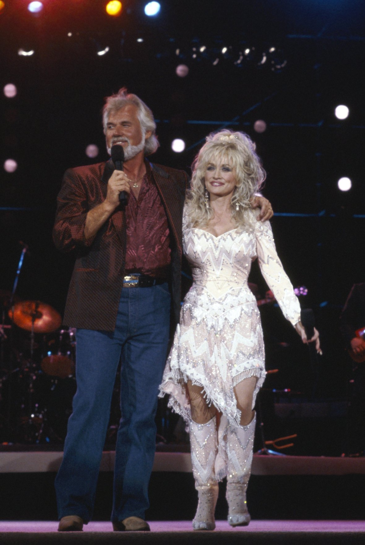 dolly parton kenny rogers getty images