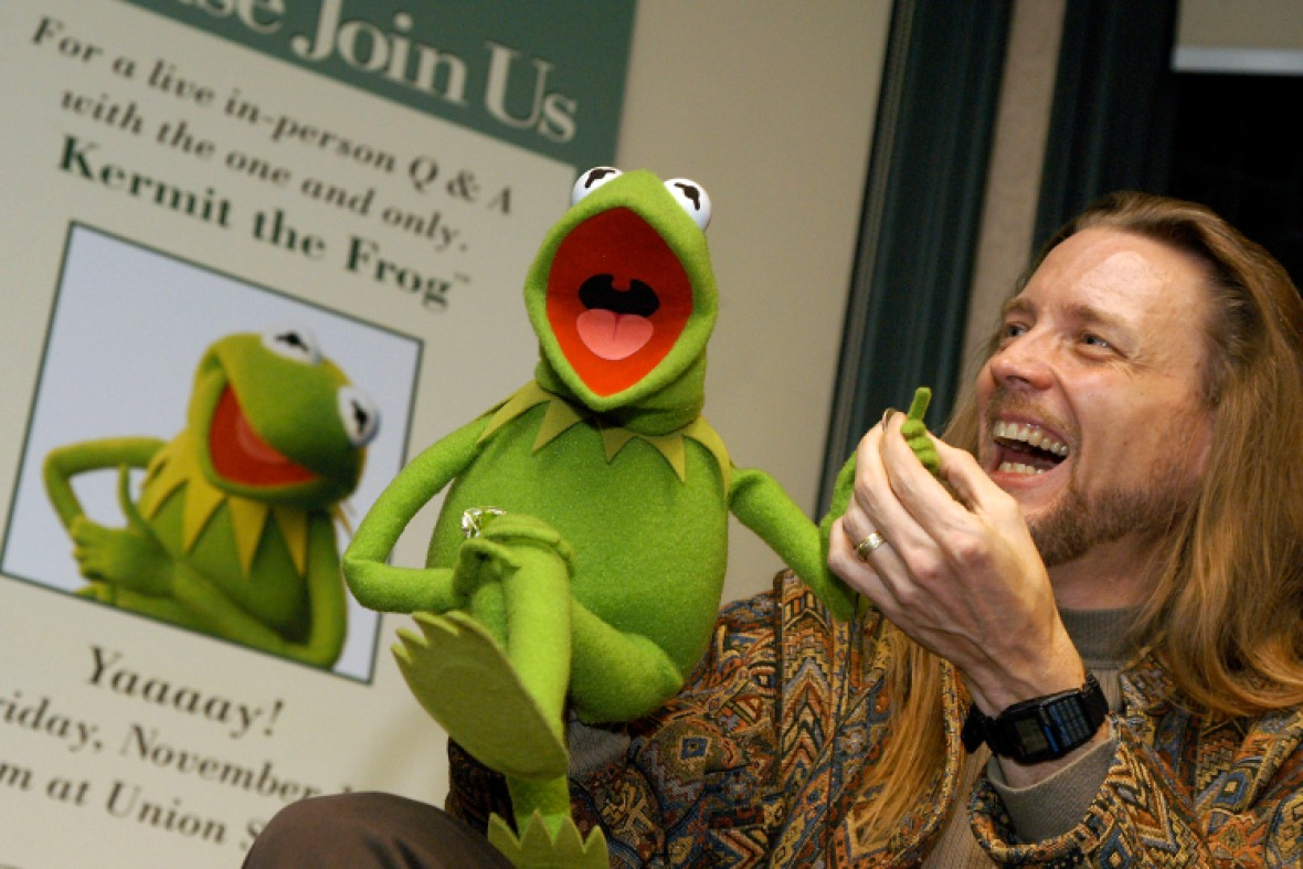 kermit the frog and steve whitmire getty
